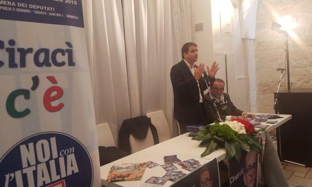 FITTO, Noi Con l'Italia-UDC: decisivo per poter governare con il Centro Destra