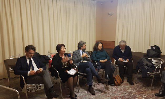 PD: presentati a Ceglie i candidati al Senato Amati e alla Camera Mariano ed Epifani