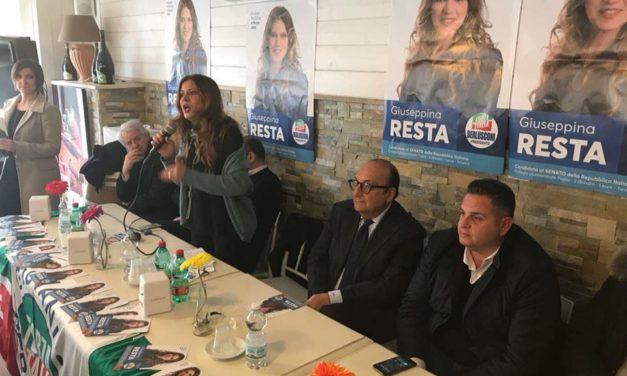 Oggi la presentazione della Candidatura al Senato di  Giusy Resta