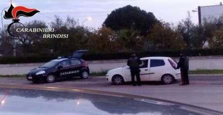 Controlli straordinarii dei Carabinieri a Ceglie