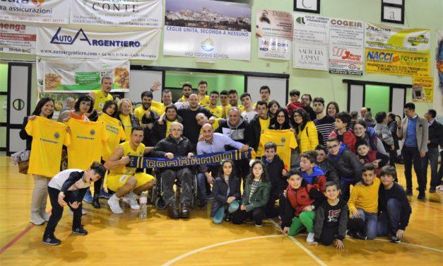 Play-off: Gara 1 alla Nuova Petrol Menga Ceglie Messapica
