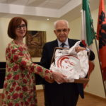 """L'Ambasciatrice di Albania in Italia a Lecce e Ceglie per il premio """"T. Schipa"""" e per incontrare i Giovani Imprenditori"""