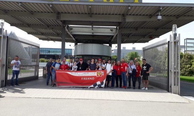 """Gli studenti dell'IPSIA """"Agostinelli"""" in visita allo stabilimento FERRARI"""