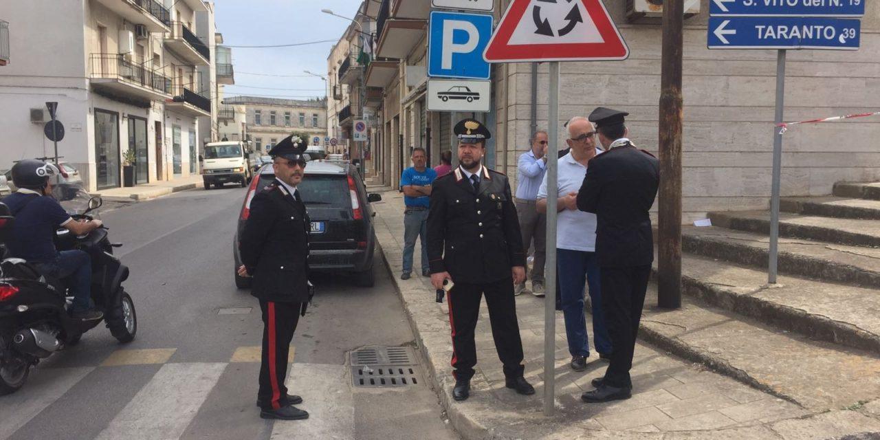 Carabinieri: possesso illegale di armi maggiori controlli a Ceglie e sul territorio