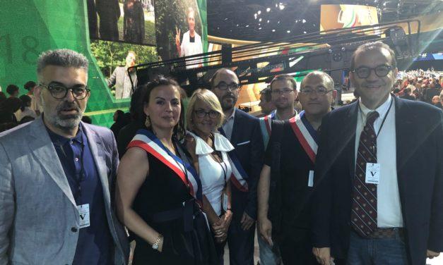 Ciracì e Matarrelli al Free Iran 2018