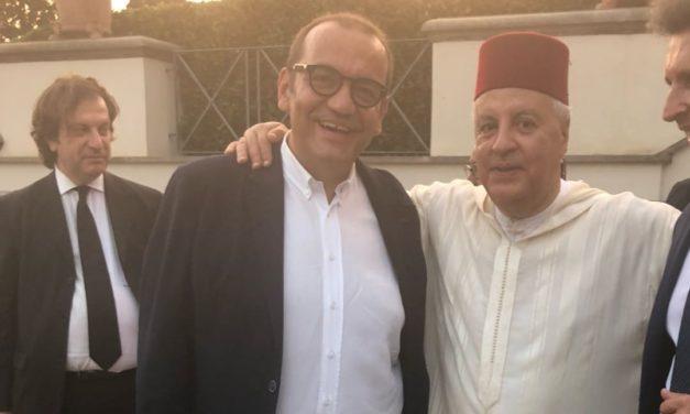 L'on. Nicola Ciracì, alla festa del Trono del Regno del Marocco