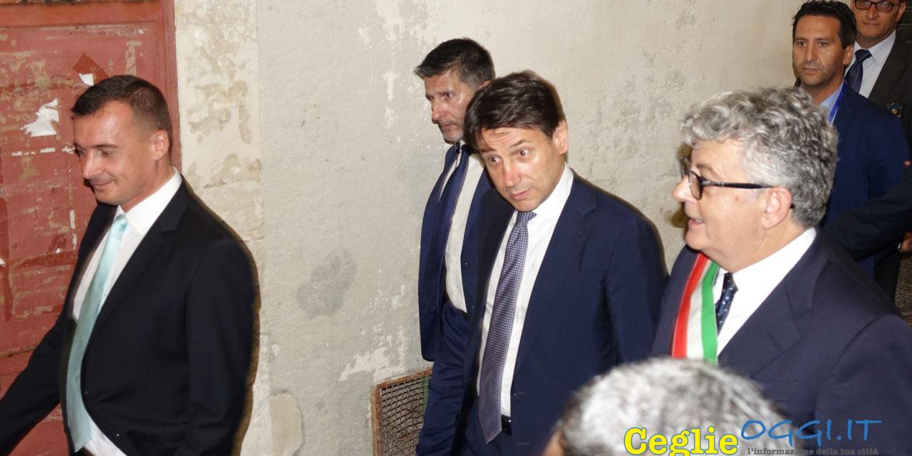 La visita del Premier Conte a Ceglie Messapica – Guarda i Video