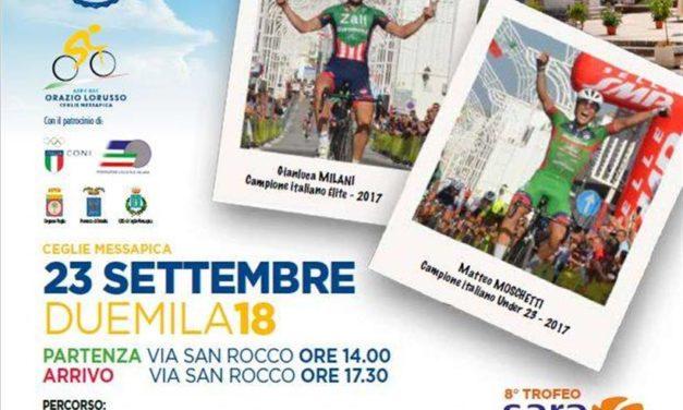 Tutto pronto per la 59^ Coppa Messapica – Giro della Valle D'Itria