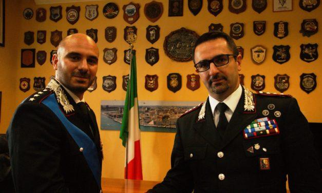 Carabinieri: cambio al vertice alla Compagnia di San Vito, arriva il Capitano Antonio Corvino