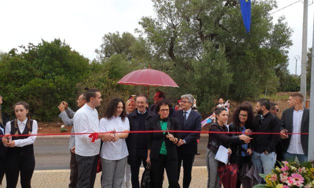 """Inaugurato il nuovo plesso scolastico dell'Alberghiero """"C. Agostinelli"""" di Ceglie Messapica – Guarda il video"""