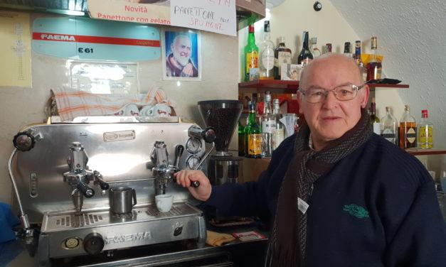 Caffè Roma, Vittorio Molentino dopo 50 anni di attività lascia il timone al figlio Francesco