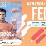 Fedez venerdì 1 Febbraio al Centro Commerciale Auchan a Mesagne